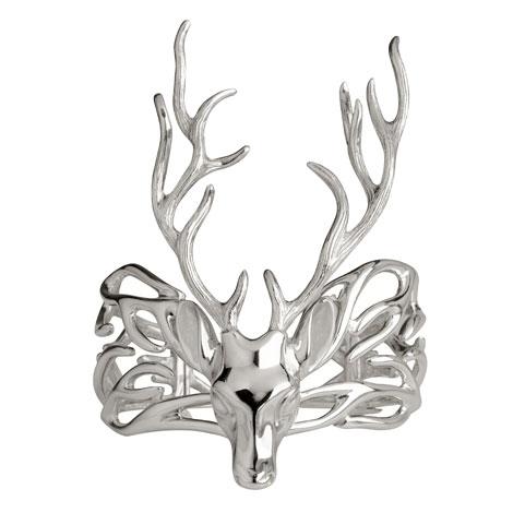 Christina-Debs-Deer-silver-bracelet