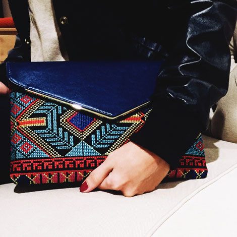 Green-and-glam-clutch
