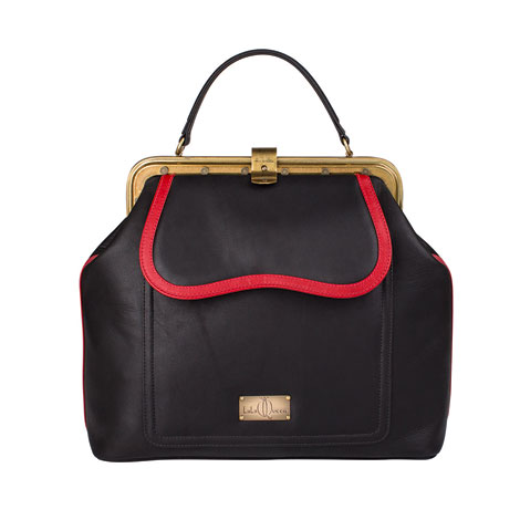 LalaQueen-Dr.Bag-Juno-black-red