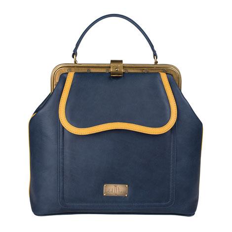 LalaQueen-Dr.Bag-Juno-blue-yellow